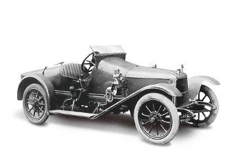1914 год Aston Martin Coal Scuttle